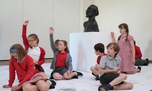 Masterpieces in schools project