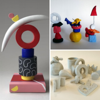 Playful Clay Assemblages